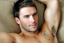 hot guys / Hot men, sexy men, hotties, hot boys, hot guys, sexy guys, sexy boys, cute guys, abs, muscles, shirtless guys,  male models, underwear models, sexy guy models,  / by Jillian Dodd