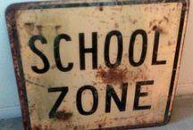 oLdE sChOoL DaYs*** / school / by Jerry Eastin