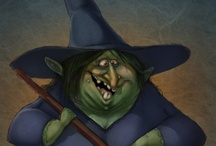 oLdE WiTcHiNg TiMe ! / witches / by Jerry Eastin
