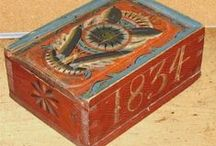 oLdE pAiNtEd BoXeS*** / dower chests,frakturs,candle boxes,bride boxes / by Jerry Eastin