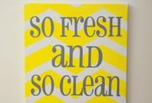 Neat and Clean / ideas to keep home tidy and clean / by Tish Roussos