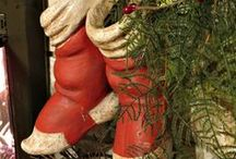 oLdE sToCkINgS wErE hUnG*** / xmas stockings / by Jerry Eastin