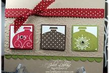 Stampin Up Christmas cards and Ideas / Cards and papercrafts made with mostly stampin up products but some other brands as well / by Christy Thompson