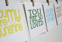 Prints Charming // Nursery Art / Nursery art, prints, words of wisdom, inspirational quotes. / by Pregnancy & Newborn magazine