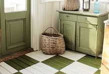 Floors / Fancy flooring ideas. / by Allison (The Golden Sycamore)