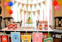 Yo Gaba Gaba Birthday / Yo Gaba Gaba Themed Birthday Ideas / by Lesley&Denise@ Chaotically Creative