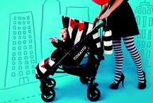 Black, White and Red / How the pushchair got its bow...What could be more alluring than black & white stripes, polka dots and a red bow...Year of the Bow - Cosatto's Golightly / by Cosatto