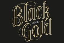 Color: Black and Gold / by Ricki Henne