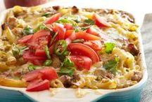 Food: Meal ideas, crock pot recipes, freezer meals and more! / by Dina Bhadra Legari