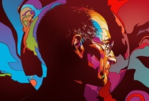 Hard-edge Illustration / A collection of Ink and digital, vector illustrations.  / by Max Hancock