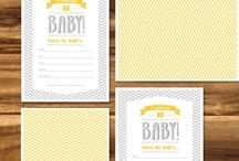 Baby Shower Ideas / by Heather Prince