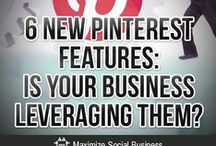 Top Pinterest Blogs & Tips / Select bloggers and social media folks who create the best informative and educational Pinterest posts, images and infographs. / by M2 Media Management / Social Media