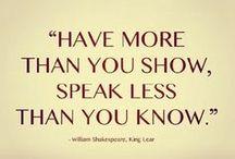 Like: Words / by Kathleen Elizabeth