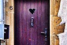 Big Door Open / Doors, keys, locks-  Love this stuff / by Kelly Kravitz