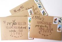 Event//Wedding Invites/Stationary / by Andrea Rachel