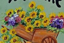 PAINTING IDEA / by Claire Bergeron