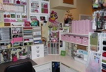 MOM'S IDEA FOR CRAFT ROOM / by Claire Bergeron