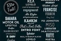 Typography / by Jennifer Holmes