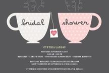 Evinspiration: Bridal Shower//Bachelorette  / by Andrea Rachel
