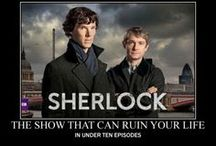 Sher-locked / Sherlock BBC - this show changes the way  you look at everything / by Kelly Kravitz