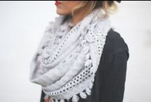 f a s h i o n : scarves / The ideal accessory. Along with shoes. And bags. / by Lori Plyler