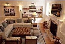 My Future House: Living Rooms / by Jennifer Engelbrecht