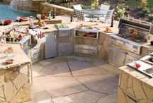 Backyard Kitchens / Summer Fun and Family Time is great with backyard kitchens.  . / by HomeZada
