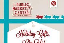 Holiday Gift Guide - Pike Place Market 2013 - I Won! / #MyPikePlace #HolidaysHandled / by Monica Kim