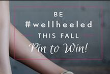 "Be Well Heeled / We are giving away a $100 gift card to our retailer Nordstrom, a collection of High Heelers, and an SOS kit! Here's how to enter: STEP 1: Follow Solemates on Pinterest STEP 2: Create a public board titled ""Be Well Heeled"" STEP 3: Repin at least 2 pins from Solemates ""Be Well Heeled"" board to your board. The rest of your board you can pin with shoes you love! Winner will be announced on September 12, 2014! - #BeWellHeeled #PinToWin - 09.12.2014  / by Monica Kim"