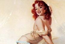 Gil Elvgren / an American painter of pin-up girls, advertising and illustration.. / by Sasha Sotirov