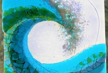 Playing With  Fused Glass / by Ardith Haws