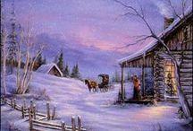 Vintage Christmas / by Paula Marsh Meador