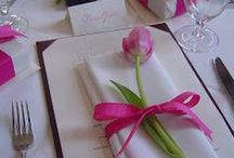 Table decoration at parties and events / by Angie Ari Coll
