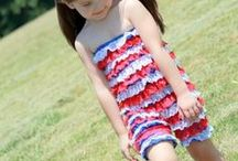 4th of July favorites / by Whimsy Couture Sewing Patterns