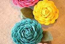 Free Flower Tutorials / by Whimsy Couture Sewing Patterns
