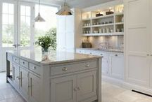 Kitchens We'd Love to Cook In / Swoon worthy kitchens. / by Plum Deluxe