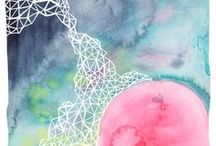 Abstracts I / Abstract artwork. / by StyleCarrot • Marni Katz