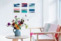 Color Pops / White with pops of color. / by StyleCarrot • Marni Katz
