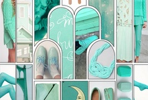 Aqua, Mint, Teal 'n' Turquoise / Fashion, decor, everyday people, places and things...using variations of aqua, mint, teal and turquoise. / by Jerri Gallup Johnson