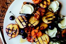 Grilled Fruit / Grilling isn't just for meats and veggies, the high heat can caramelize the sugars in fruit, making them sweeter and more flavorful.  / by No Recipes