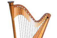 Free Sheet Music for Harp / by MakingMusicFun.net   Elementary Music Education