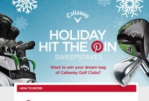 Holiday Hit The Pin Sweepstakes - CLOSED / by Callaway Golf