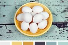 Color Palettes / Interesting color palettes to use whenever the inspiration strikes! / by Let's Eat Grandpa {Cori George}