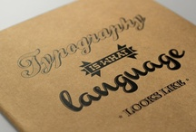 Typography Love / by Stephanie d'Otreppe