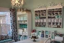 Craft Rooms I Want to Live In / by NobleKnits