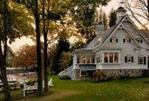 dream farmhouses / by Shannon Swider Eddy