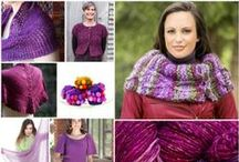Radiant Orchid - Color of the Year! / Pantone Color of the Year 2014 - Radiant Orchid for knitting! / by NobleKnits
