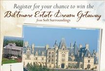 Biltmore Estate Dream Weekend Getaway! / Enter to win our Biltmore Estate Dream Weekend Getaway!  The prizes include a two-night stay for two people at the Biltmore Inn (including breakfast), a behind the scenes Biltmore Winery Tour, two Soft Surroundings apparel items, a Perricone MD Power Treatments Kit, a jane iredale Starter Kit, and a $500 Visa gift card (for travel expenses or spending money!) The sweepstakes is open from now until October 8, 2014. / by Soft Surroundings