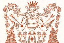 modern heraldry / by Eliza Jane Curtis | Morris & Essex