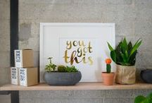 H E L L O  M Y NA M E I S S H I N E / Hello, My Name Is Shine is a brand new print shop. We happily offer handmade gold foil art prints for the soul.  / by Rebecca Orlov